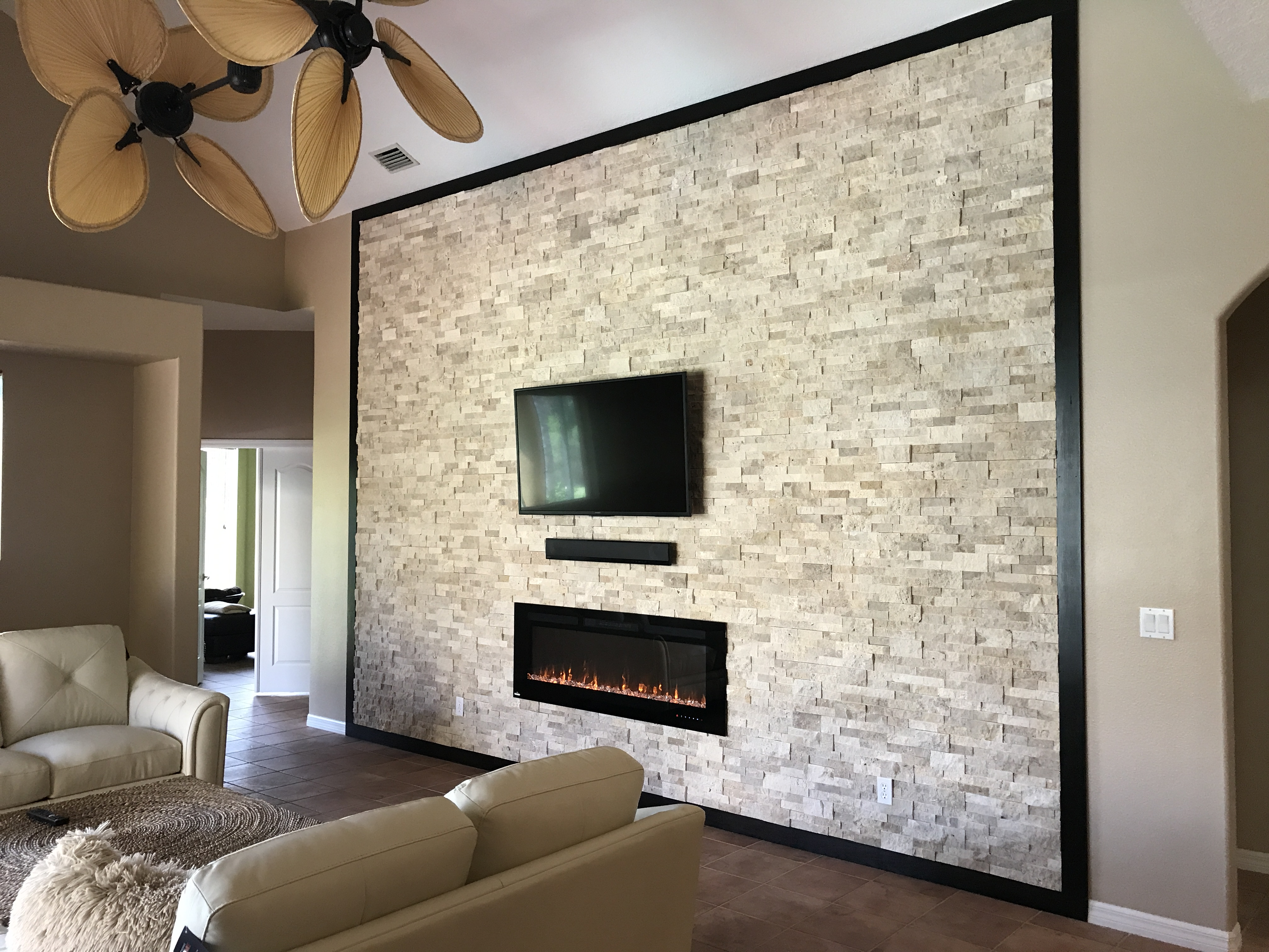 bayside redesign stone wall